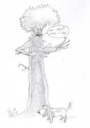 The woes of Treebeard the Ent by Maitia