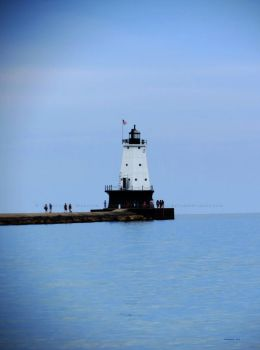 Ludington North Breakwater Light -P- by Foozma73