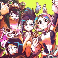 My Heroines Academia by Shutwig