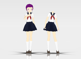 [MMD] School Bases -updated- by RinYukaita