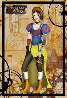 Steampunk Snow White by HelleeTitch