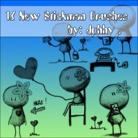 16 New Stickman Brushes by Johhy