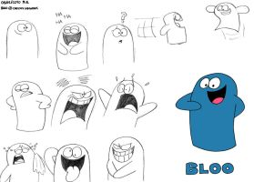 A Bundle of Bloo by BluebottleFlyer