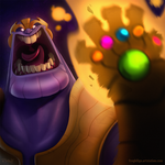 Thanos! by frogbillgo