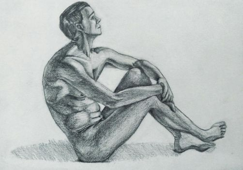 Figure drawing 03 by PatriciaPM