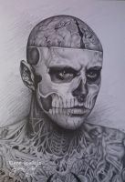 Rick Genest by SpleenArt