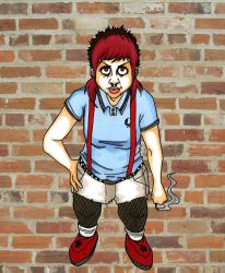 Skinhead Girl by androidfink
