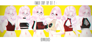 PARTDL:TUMBLR CROP TOP SET2 by ThisisKENZ