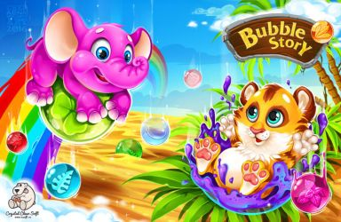 Preloader for Bubble_Story by ChepAlina