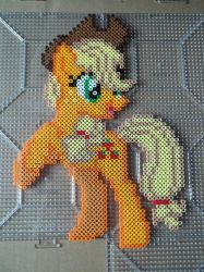 Applejack Perler by The-Original-Kopii