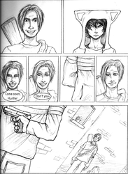 RaW - 'Lost and Found' page 9 by kamesen