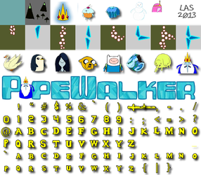 Pipewalker AdvTime ICE KING theme by LauraSeabrook