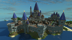 Minecraft Castle 2.0 by jelmobu