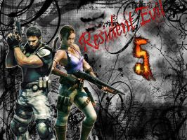 Resident Evil 5 wallpaper by EpitaphOfTwilightCe