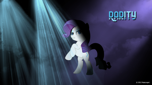 Rarity can party Wallpaper by nsaiuvqart