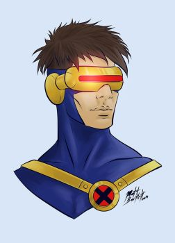 Cyclops Bust by Karbacca