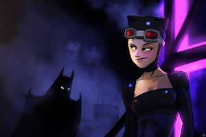 Catwoman Rooftop by PandaFace