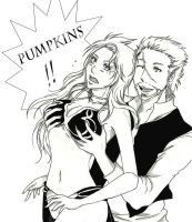 Pumpkins! by InkieRose