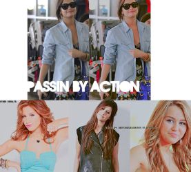 Passin' By Action + by ObsessionCelebrities