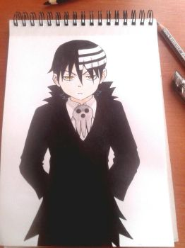 Death the Kid | Soul Eater by CraftyMail