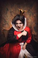 Disney - Alice in Wonderland - Queen of Hearts by Matsu-Sotome