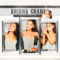 Pack PNG de Ariana Grande by iLightWonderful