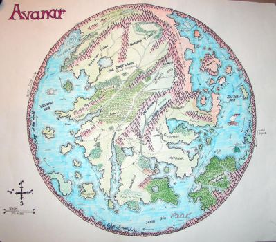 Avanar Map by Mistgod