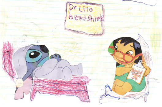 Dr Lilo head shrink by Stitchthebest36