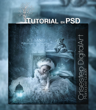 Tutorial Ice Land by CrisestepArt