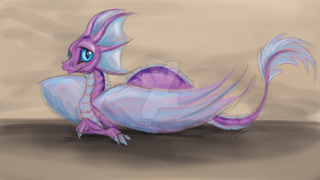 The Pixie Dragonling by KwehCat