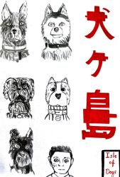 Isle of dogs  by NutsFlorie