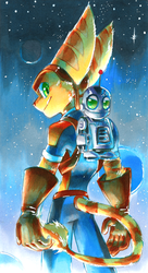 Ratchet and Clank by Strixic