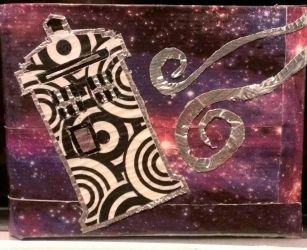 Doctor Who Duct Tape Wallet by Valeradaine