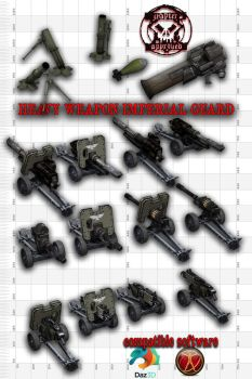 Heavy Weapon Imperial Guard by jibicoco