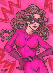 Sketchcard Commish Lavender by RichBernatovech