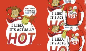 Lloyd Irving Shirt - I lied, It's actually HOT by a745