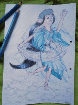 The spring dance of Luthien by romenriel