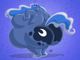 Royal Sumo Luna by RickyDemont