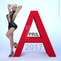 Digital Beauty Series - April (2017) by Digital-Beauty-Serie