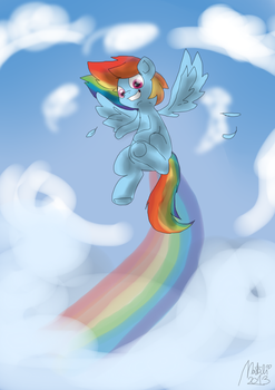 Soar through sky by NataliStudios