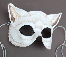 White Wolf Mask by windfalcon
