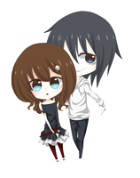 [R] Jess and Jeff the Killer by Akariinnn