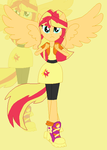 AU Sunset Shimmer by xXkerrysweetXx