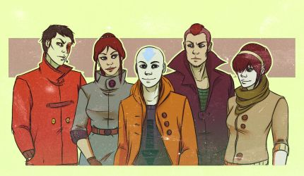 Avatar - Family Picture by andrahilde