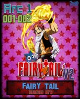 Fairy Tail Arc 1 (001-002) - Macao Arc v2 AnimeIco by Zule21