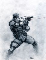 Solid Snake by Nordheimer