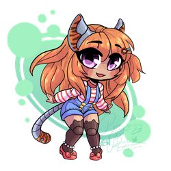 RP Chibi Commission for ShaylaAmanda by bunnyb133