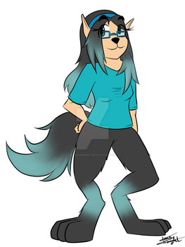 Lydia redesign [COMMISSION - Buildersith] by ClaraKnight