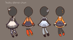[outfit set] - cvrryspice [1/4] by hello-planet-chan