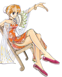 Chapter 32 - Nami transparent by Claudia-Cher